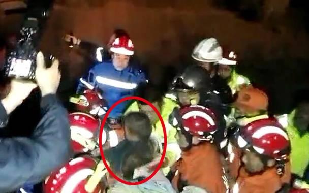 壹点视频|1分37秒独家还原坠井男孩救援全过程