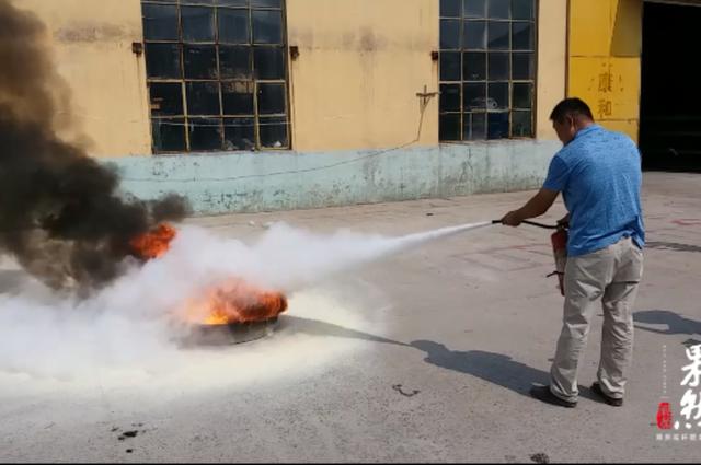 果然视频|你家的灭火器检测合格吗?有的用了火更大
